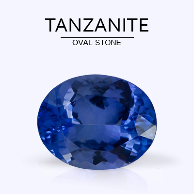Oval Tanzanite Rings